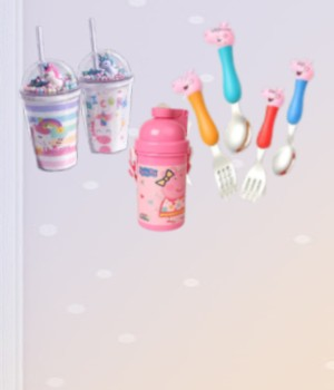 Bottle Cups and Cutlery Collection